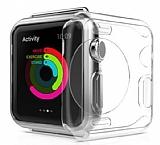 Eiroo Apple Watch / Watch 2 Şeffaf Silikon Kılıf (42 mm)