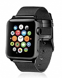 Eiroo Apple Watch Siyah Metal Kordon (42 mm)