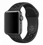 Eiroo Apple Watch Siyah Spor Kordon (42 mm)