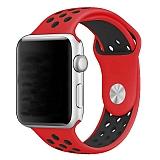 Eiroo Apple Watch Kırmızı Spor Kordon (42 mm)