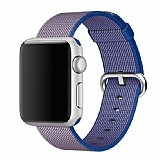 Eiroo Apple Watch / Watch 2 / Watch 3 Royal Blue Spor Loop Kordon (42 mm)