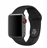 Eiroo Apple Watch Siyah Spor Kordon (38 mm)