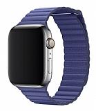 Eiroo Apple Watch / Watch 2 / Watch 3 Titanyum Metal Lacivert Kordon (42 mm)