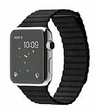 Eiroo Apple Watch / Watch 2 / Watch 3 Titanyum Metal Siyah Kordon (42 mm)