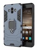 Eiroo Armor Huawei Mate 10 Standlı Ultra Koruma Lacivert Kılıf