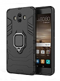 Eiroo Armor Huawei Mate 10 Standlı Ultra Koruma Siyah Kılıf