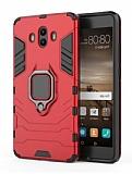 Eiroo Armor Huawei Mate 10 Standlı Ultra Koruma Kırmızı Kılıf