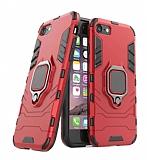 Eiroo Armor iPhone 6 / 6S Standlı Ultra Koruma Kırmızı Kılıf