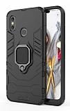 Eiroo Armor Xiaomi Mi 8 Standlı Ultra Koruma Siyah Kılıf