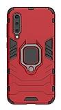 Eiroo Armor Xiaomi Mi 9 Standlı Ultra Koruma Kırmızı Kılıf