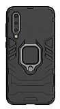 Eiroo Armor Xiaomi Mi 9 Standlı Ultra Koruma Siyah Kılıf