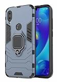 Eiroo Armor Xiaomi Mi Play Standlı Ultra Koruma Lacivert Kılıf