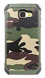 Eiroo Army Samsung Galaxy A7 2017 Ultra Koruma Yeşil Kılıf
