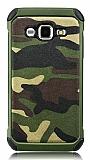 Eiroo Army Samsung Galaxy J2 Ultra Koruma Yeşil Kılıf