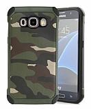 Eiroo Army Samsung Galaxy J5 2016 Ultra Koruma Yeşil Kılıf