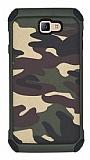 Eiroo Army Samsung Galaxy J7 Prime Ultra Koruma Yeşil Kılıf