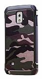 Eiroo Army Samsung N9000 Galaxy Note 3 Ultra Koruma Yeşil Kılıf
