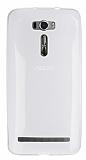 Asus Zenfone 2 Laser 6 inç Ultra İnce Şeffaf Silikon Kılıf
