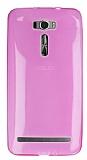 Eiroo Asus Zenfone 2 Laser 6 in� Ultra �nce �effaf Pembe Silikon K�l�f