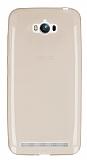 Eiroo Asus ZenFone Max Ultra �nce �effaf Gold Silikon K�l�f