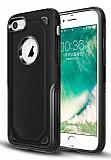 Eiroo Binary iPhone 6 / 6S Ultra Koruma Siyah Kılıf