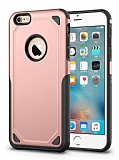 Eiroo Binary iPhone 6 Plus / 6S Plus Ultra Koruma Rose Gold Kılıf