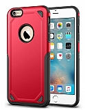 Eiroo Binary iPhone SE / 5 / 5S Ultra Koruma Kırmızı Kılıf