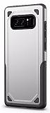 Eiroo Binary Samsung Galaxy Note 8 Ultra Koruma Silver Kılıf