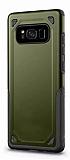 Eiroo Binary Samsung Galaxy S8 Ultra Koruma Yeşil Kılıf