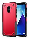 Eiroo Binary Samsung Galaxy S9 Ultra Koruma Kırmızı Kılıf