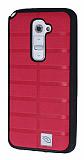 Eiroo Bloka LG G2 Pembe Silikon K�l�f