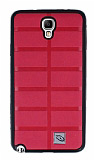 Eiroo Bloka Samsung Galaxy N7500 Note 3 Neo Pembe Silikon K�l�f