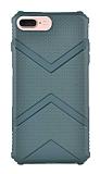 Eiroo Blow iPhone 7 Plus / 8 Plus Ultra Koruma Yeşil Kılıf