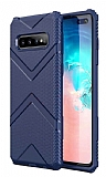 Eiroo Blow Samsung Galaxy S10 Ultra Koruma Lacivert Kılıf