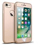 Eiroo Body Fit iPhone 6 / 6S 360 Derece Koruma Gold Silikon Kılıf