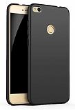 Eiroo Body Thin Huawei P9 Lite 360 Derece Koruma Siyah Rubber Kılıf