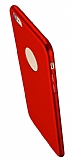 Eiroo Body Thin iPhone 6 / 6S 360 Derece Koruma Kırmızı Rubber Kılıf