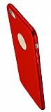 Eiroo Body Thin iPhone 6 Plus / 6S Plus 360 Derece Koruma Kırmızı Rubber Kılıf
