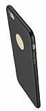 Eiroo Body Thin iPhone 6 Plus / 6S Plus 360 Derece Koruma Siyah Rubber Kılıf