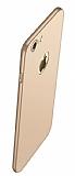 Eiroo Body Thin iPhone 7 / 8 360 Derece Koruma Gold Rubber Kılıf