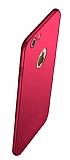 Eiroo Body Thin iPhone 7 / 8 360 Derece Koruma Kırmızı Rubber Kılıf
