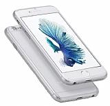 Eiroo Body Thin iPhone 6 / 6S 360 Derece Koruma Şeffaf Rubber Kılıf