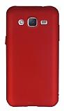Eiroo Body Thin Samsung Galaxy J2 360 Derece Koruma Kırmızı Rubber Kılıf