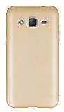 Eiroo Body Thin Samsung Galaxy J2 360 Derece Koruma Gold Rubber Kılıf