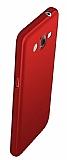 Eiroo Body Thin Samsung Galaxy J3 2016 360 Derece Koruma Kırmızı Rubber Kılıf