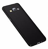 Eiroo Body Thin Samsung Galaxy J7 360 Derece Koruma Siyah Rubber Kılıf