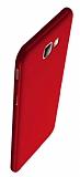 Eiroo Body Thin Samsung Galaxy J7 Prime 360 Derece Koruma Kırmızı Rubber Kılıf