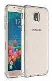 Eiroo Body Thin Samsung Galaxy J7 Pro 2017 360 Derece Koruma Şeffaf Rubber Kılıf