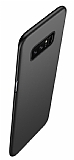 Eiroo Body Thin Samsung Galaxy Note 8 360 Derece Koruma Siyah Rubber Kılıf