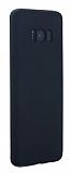 Eiroo Body Thin Samsung Galaxy S8 Plus 360 Derece Koruma Siyah Rubber Kılıf